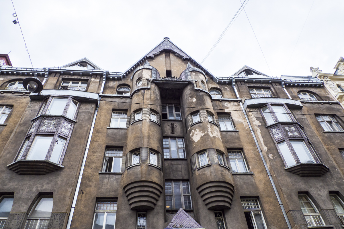 11 Alberta Street a National Romanticism Art Nouveau Building in Riga, Latvia  8291072