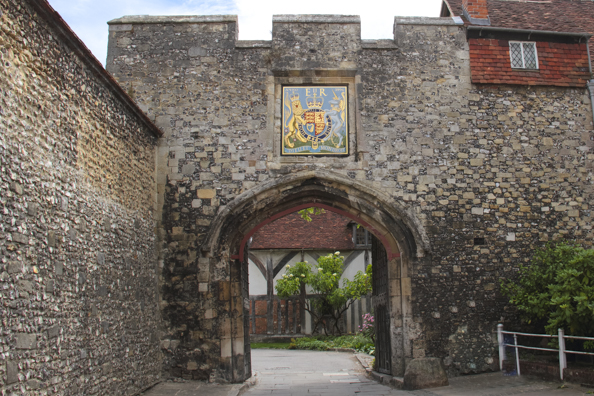 One of the city gates into Winchester