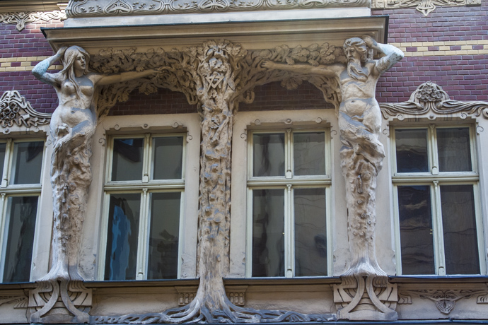 2, Smilšu Street Art Nouveau Architecture in Riga, Latvia  Riga  2741