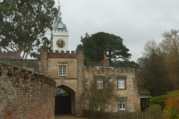 Entrance to the castle on Brownsea Island