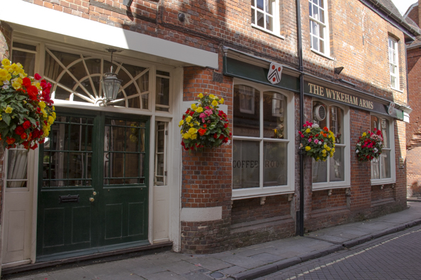 Wykeham Arms public house in Winchester