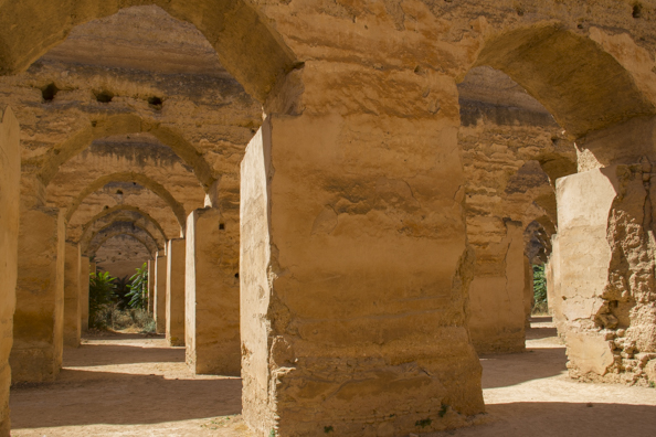 Royal Stables in Meknes, Morocco