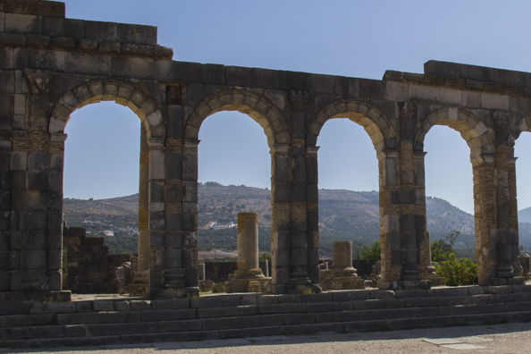 Ruins at Volubilis, Morocco