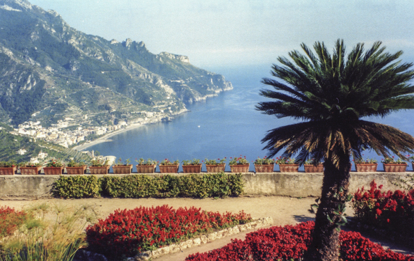 The Amalfi Coast from Ravello in Italy