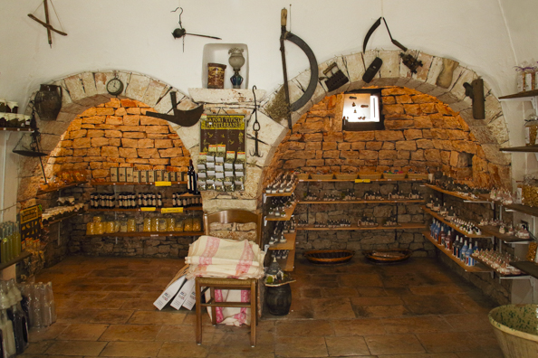 A shop inside a trullo  in Alberobello, Puglia, Italy