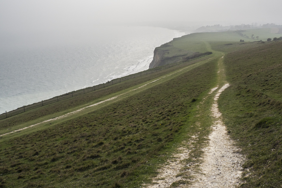A Swaalien mist about to roll across Culver Down on the Isle of Wight?  4071252