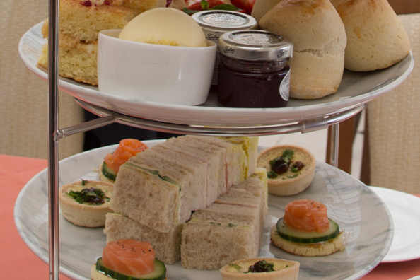 Afternoon tea at Blenheim Palace, Woodstock near Oxford