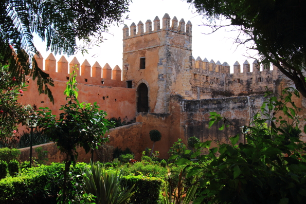 The Andalusian Gardens in Rabat, Morocco
