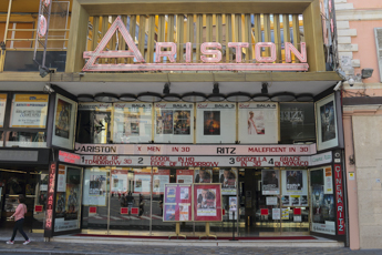 Ariston Cinema in Sanremo, Liguria in Italy