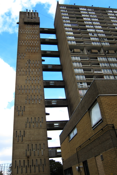 Balfron Tower on the Brownfield Estate Poplar London