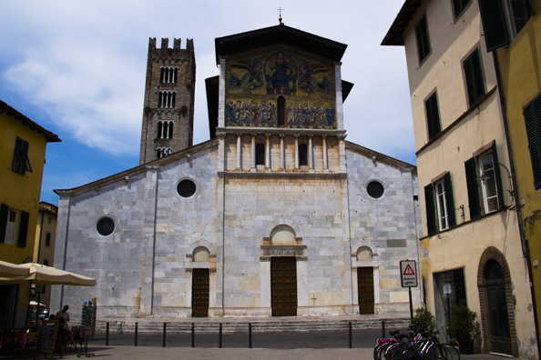 Basilica di San Frediano in Lucca, Tuscany in Italy