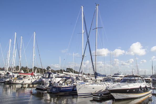 Berthon Marina on Lymington River in Lymington