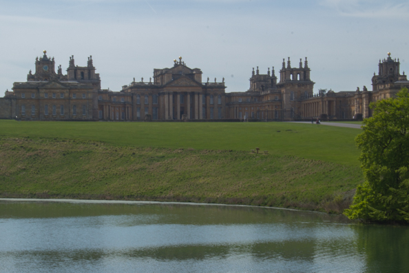 Blenheim Palace at Woodstock near Oxford