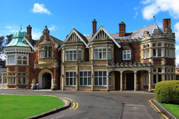 The Mansion at Bletchley Park in Buckinghamshire
