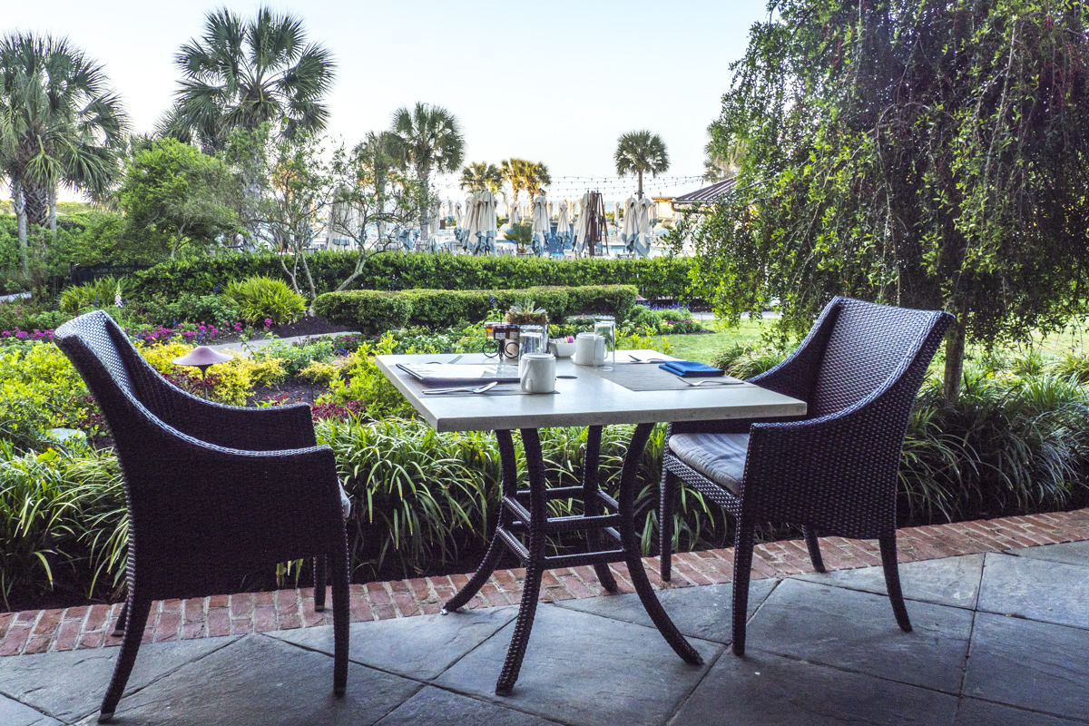 Breakfast in the Jasmine Porch Restaurant in The Sanctuary on Kiawah Island    4121459