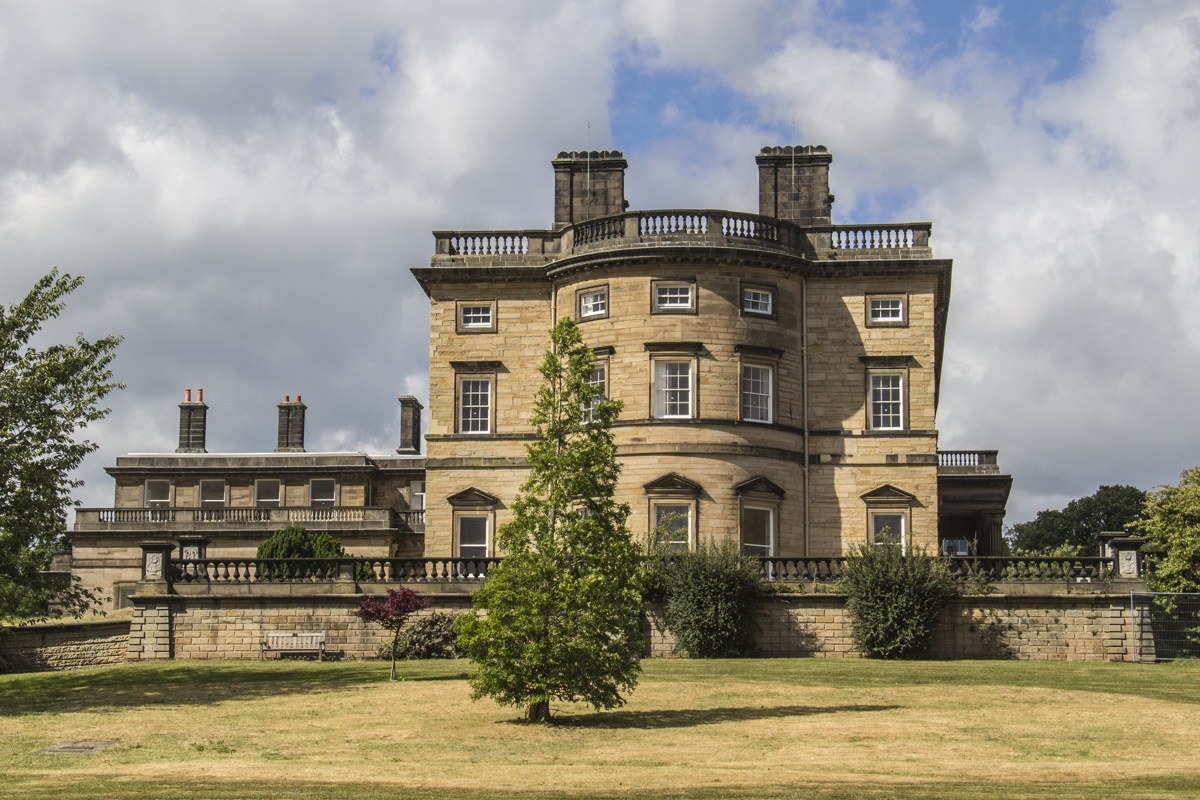 Bretton Hall at Yorkshire Sculpture Park, Yorkshire, UK  0583
