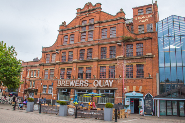 Brewers Quay in Weymouth, Dorset, UK