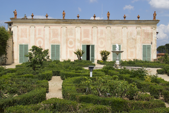 Casino del Cavaliere home of the Porcelain museum in the  Boboli Gardens behind the Palazzo Pitti in Florence, Tuscany