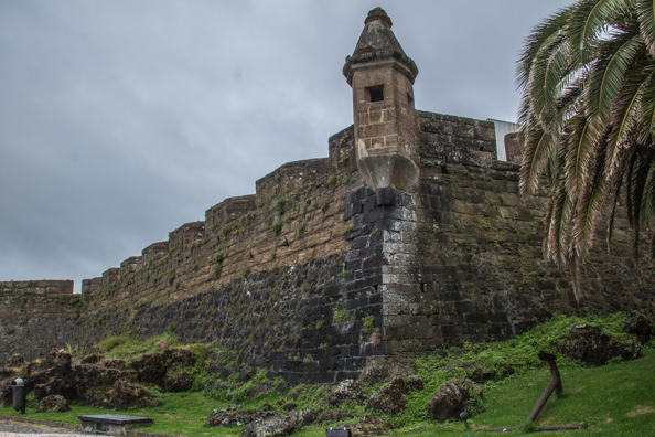 Castle of Santa Cruz in Horta on Faial Island in the Azores