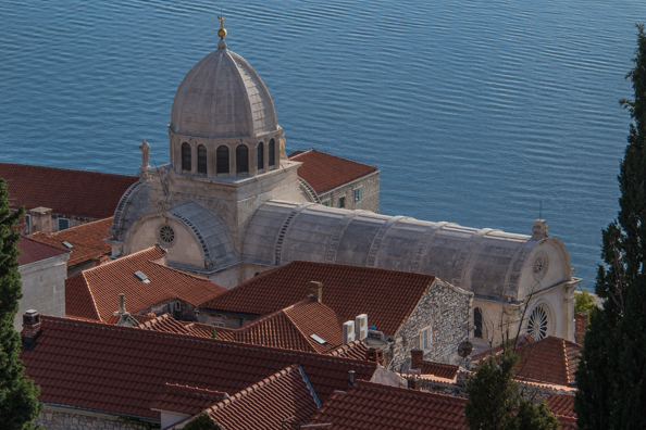 Cathedral of St James in Šibenik in the Dalmatia region of Croatia