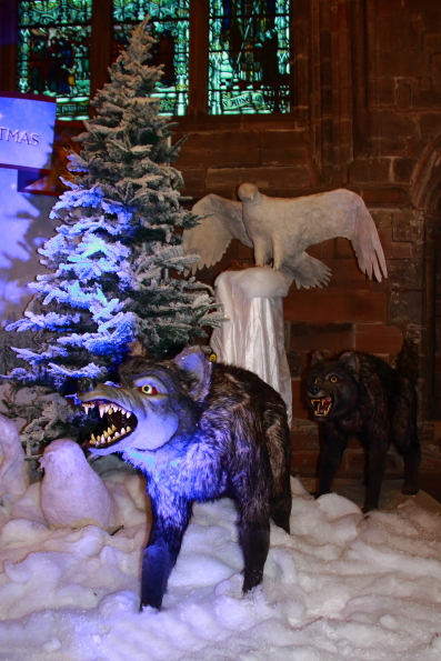 A scene from Narnia in Chester Cathedral