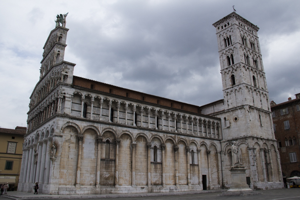 Chiesa di San Michele in Lucca, Tuscany in Italy