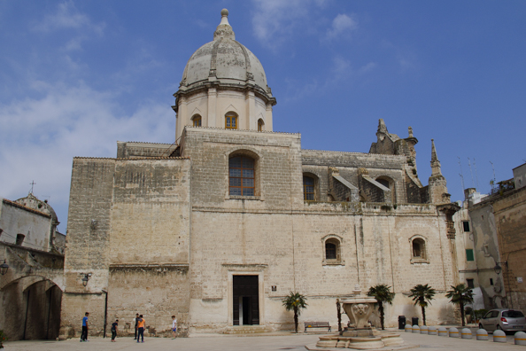Chiesa Santa Teresa in the old town of Monopoli in Puglia, Italy - -