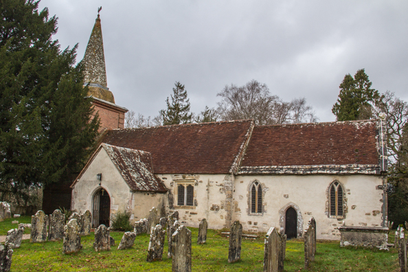 Church of Saint Nicholas in Brockenhurst, New Forest