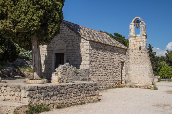 Church of Saint Nicholas the Traveller on Marjan Hill in Split, Croatia