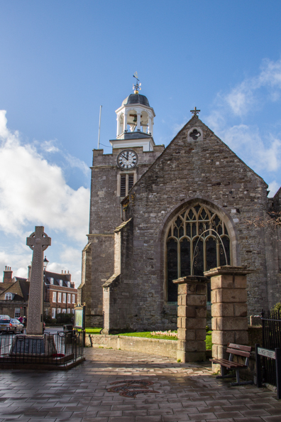Church of Saint Thomas in Lymington, New Forest, Hampshire, UK
