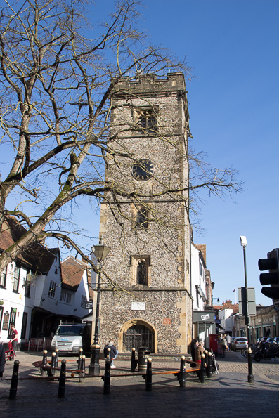 Clock Tower in St Albans