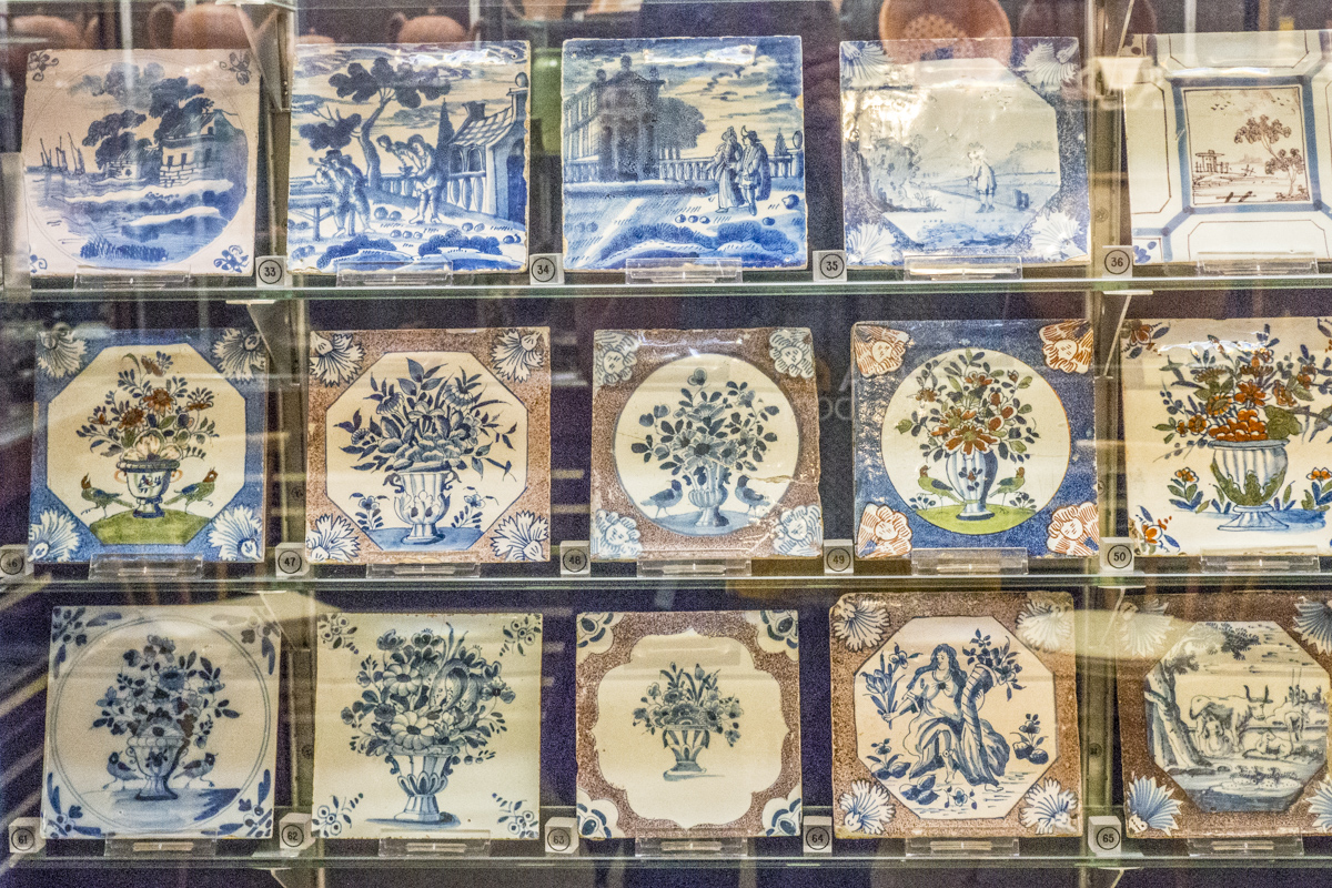 Collection of Tiles at the Allen Gallery in Alton, Hampshire 4303755