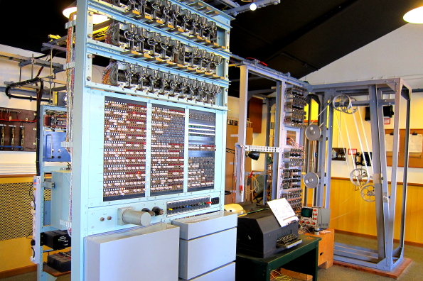 Colossus in the National Computer Museum at Bletchley Park in Buckinghamshire