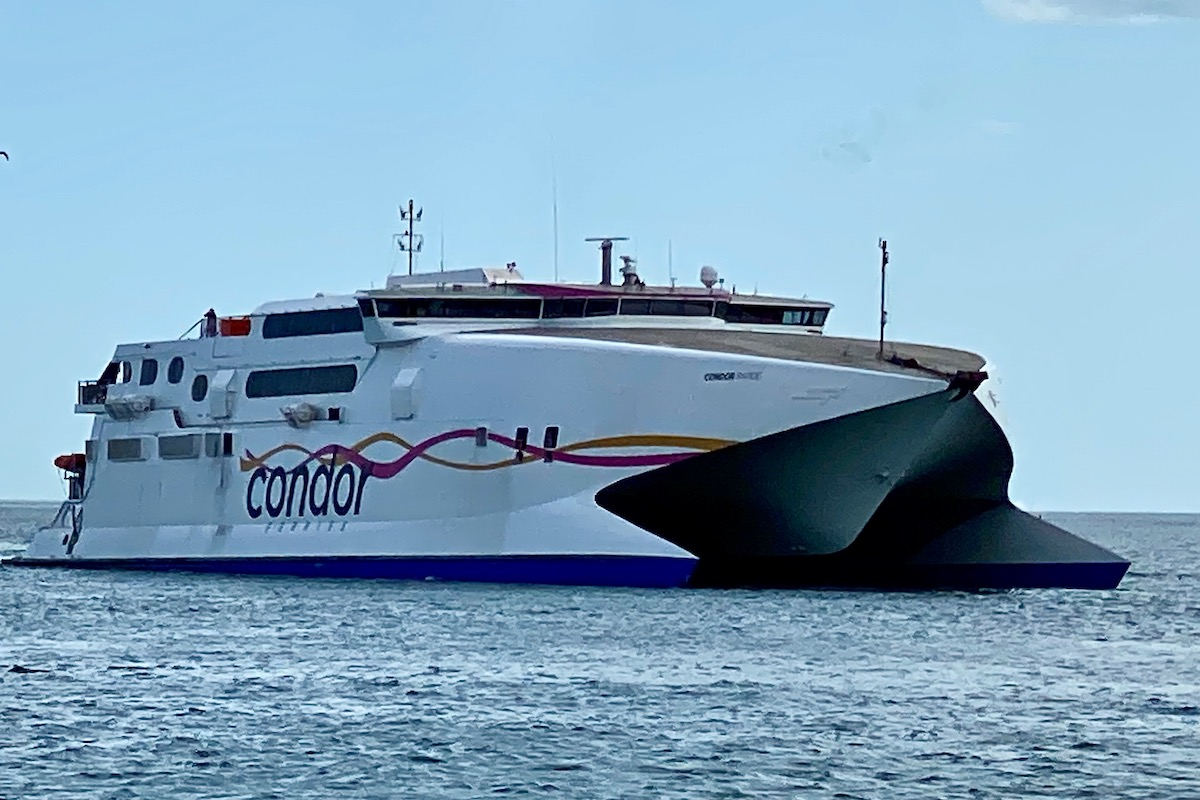 Condor Coming into Poole Harbour,Dorset