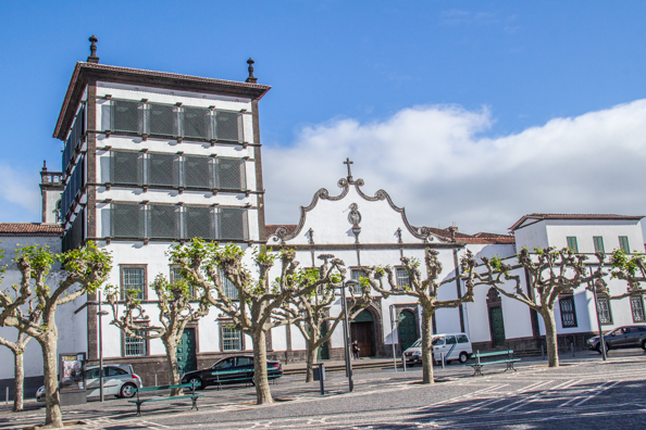 Convent and Chapel of Nossa Senhora da Esperança in Ponta Delgada on the Island of São Miguel in the Azores