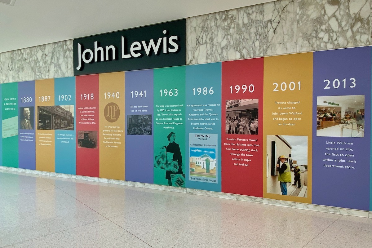Curtain Comes Down on John Lewis in Watford
