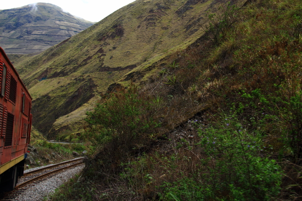 Devil's Nose section of the railway in Ecuador