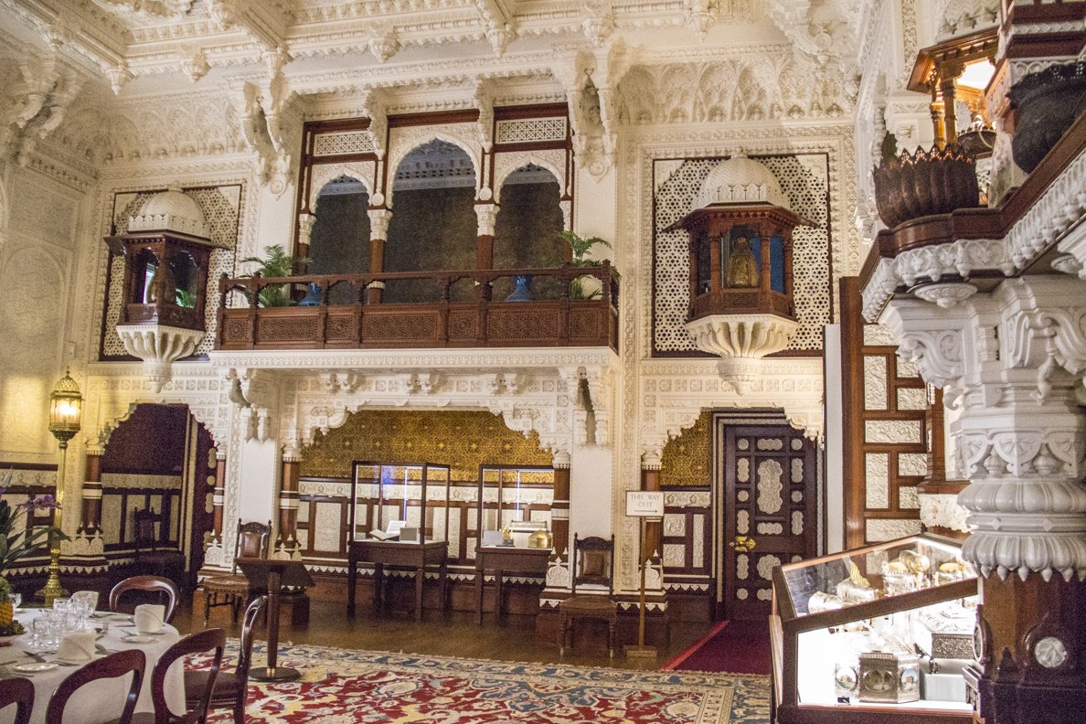 Durbar room in osborne house osborne isle of wight hampshire england 3964