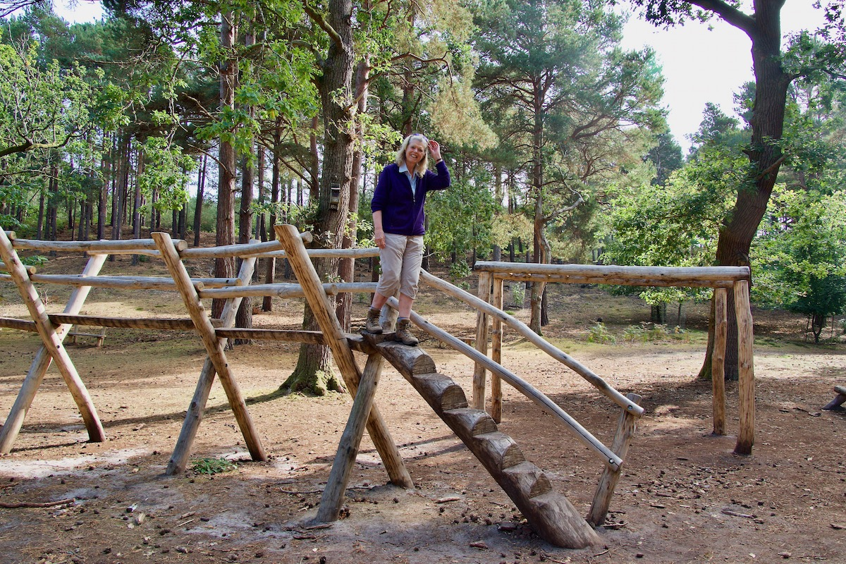 Enjoying the Natural Adventure Park on Brownsea Island in Dorset
