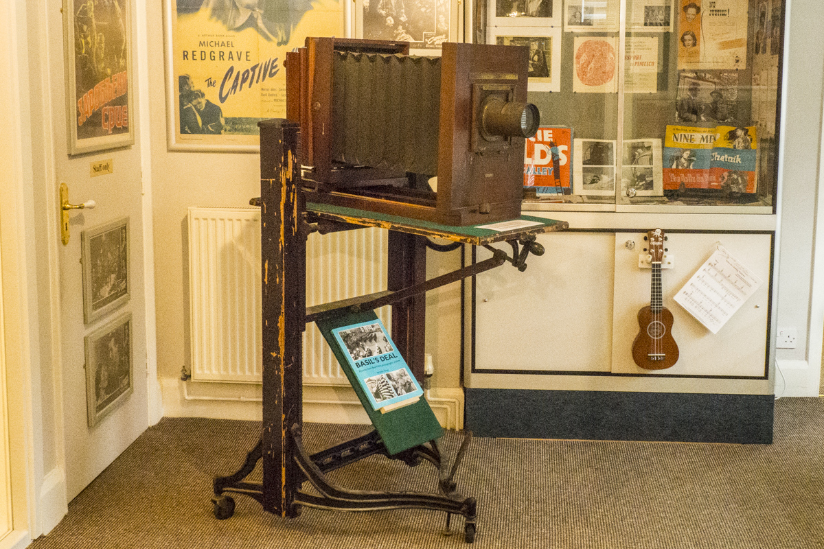 Exhibits in the Kent Moving Image Museum in Deal, Kent  5060434
