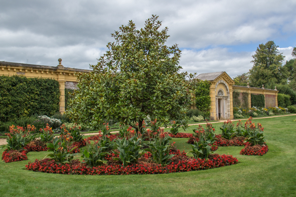 Exterior of the Walled Garden at Osborne House on the isle of Wight