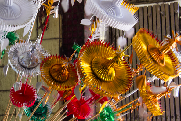 Festival decorations in Myanmar