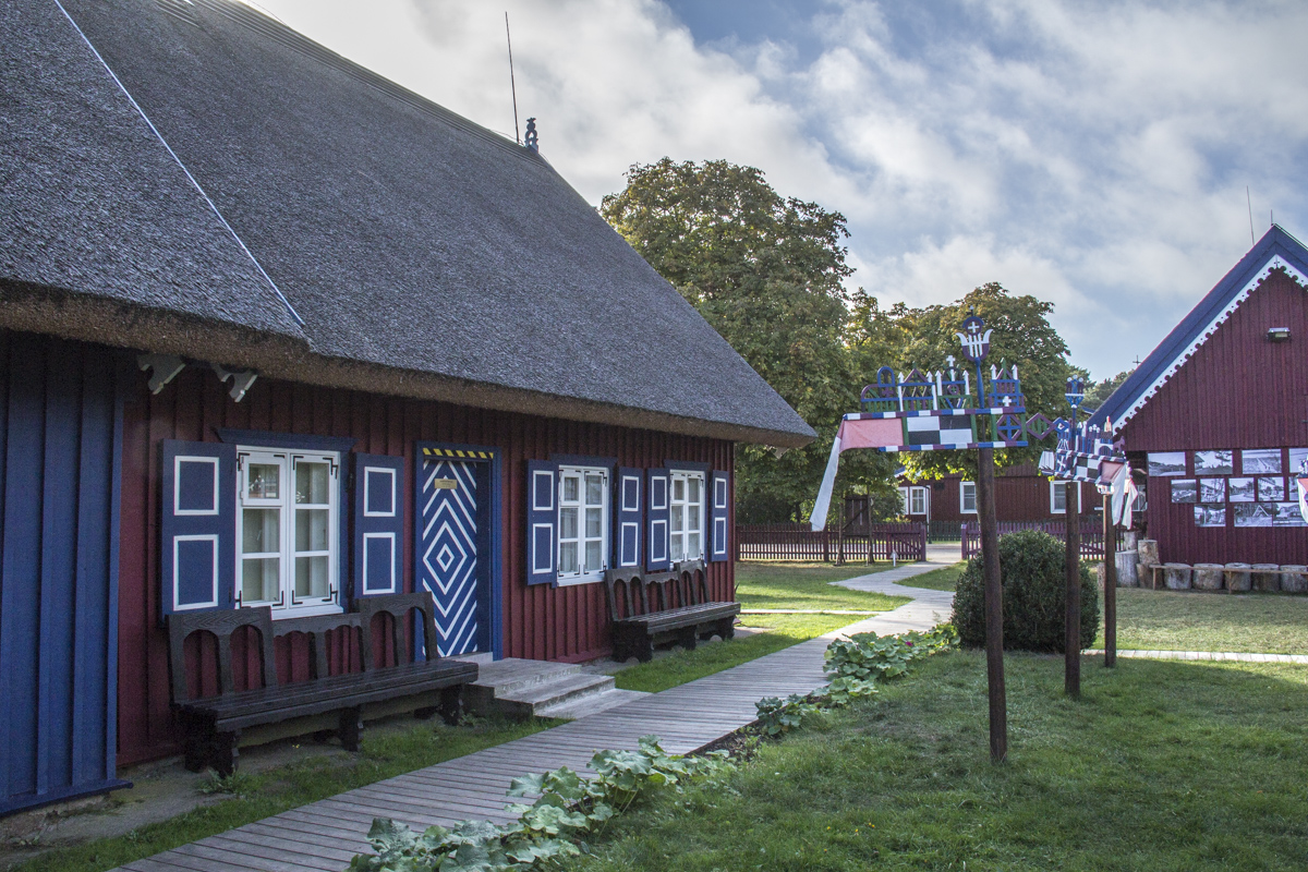 Fisherman's Ethnographic Farmstead in Nida, Lithuania   0040