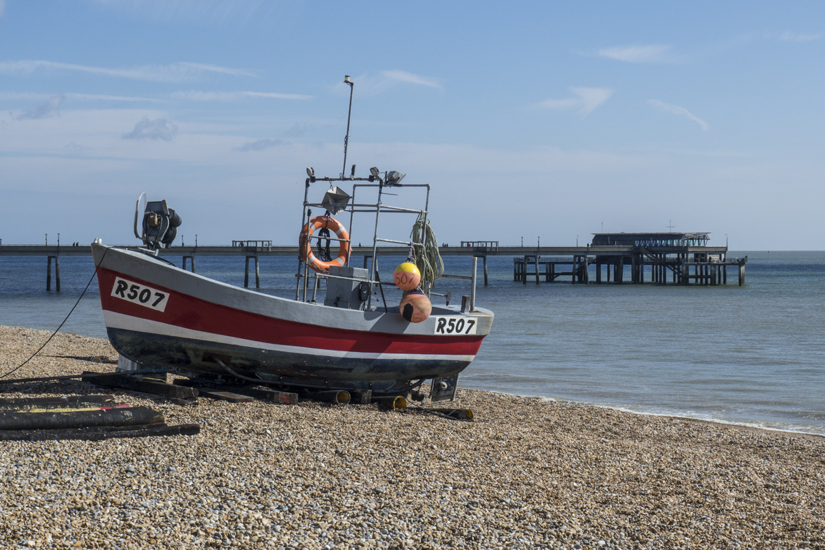 Fishing Boat on the Beach at Deal in Kent  5060300