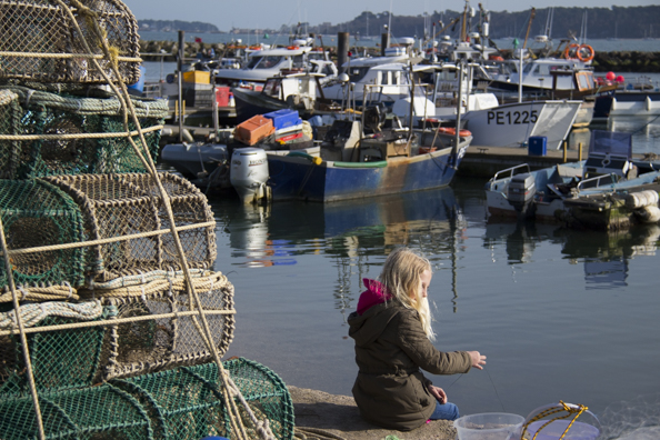Fishing boats in Poole Harbour