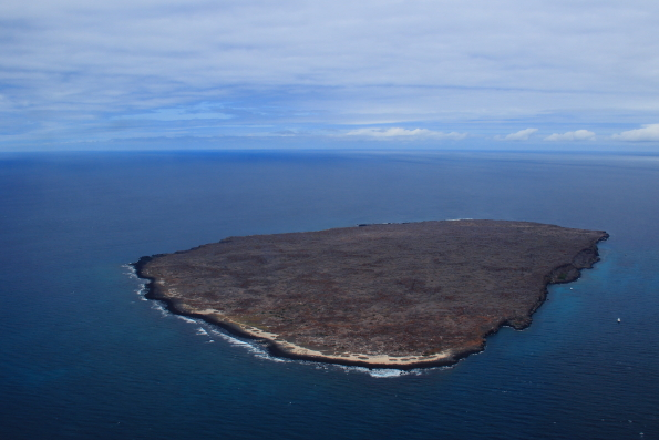 An island in the Galapagos archipelago