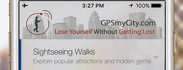 Introducing GPS-Guided Travel Articles