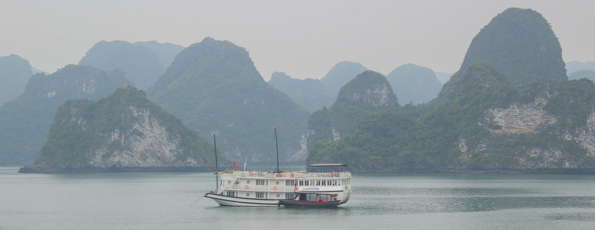 A Cruise around Ha Long Bay in Vietnam