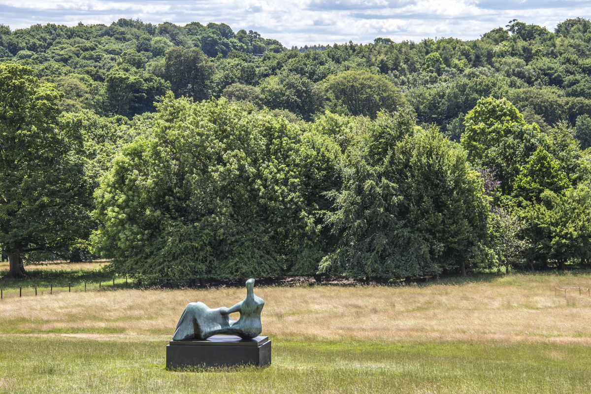 Henry Moore   Reclining Figure Hand in the Yorkshire Sculpture Park, West Yorkshire, UK  0378