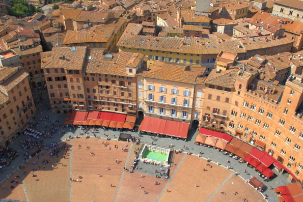 Il Camp Siena from Torre Mangia